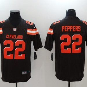 Men's Cleveland Browns 22 Jabrill Peppers jersey